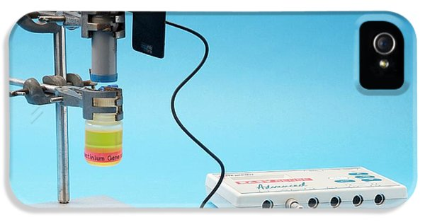 Measuring The Half-life Of Protactinium IPhone 5 / 5s Case by Trevor Clifford Photography