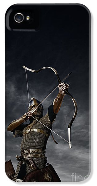 Medieval Archer II IPhone 5 Case by Holly Martin