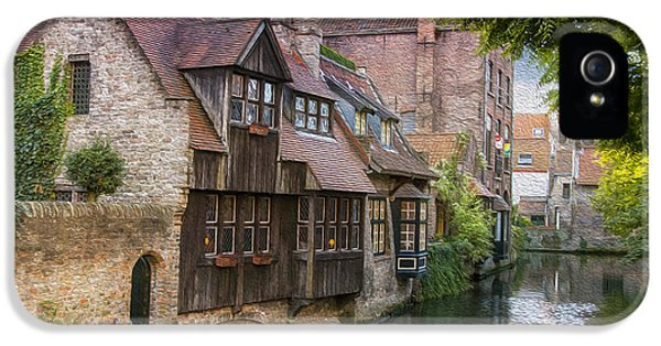 Medieval Bruges IPhone 5 Case by Juli Scalzi