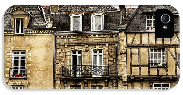 Town iPhone 5 Case - Medieval Houses In Vannes by Elena Elisseeva