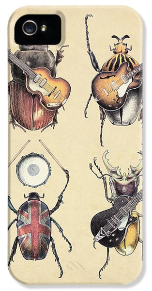 Meet The Beetles IPhone 5 Case by Eric Fan