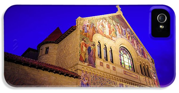 Memorial Church Stanford University IPhone 5 Case by Scott McGuire