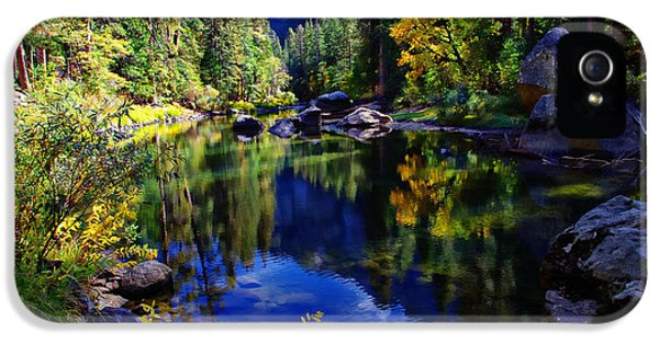 Merced River Yosemite National Park IPhone 5 / 5s Case by Scott McGuire