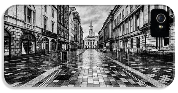 Merchant City Glasgow IPhone 5 Case by John Farnan