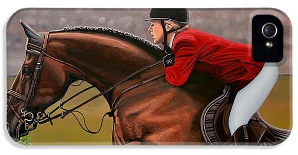 Horse iPhone 5 Case - Meredith Michaels Beerbaum by Paul Meijering