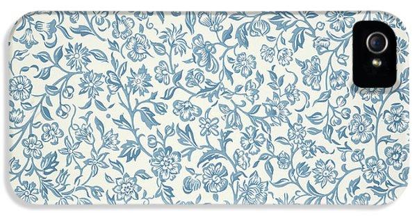 Merton Wallpaper Design IPhone 5 Case by William Morris