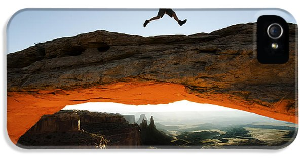 Mesa Arch Midair IPhone 5 Case by Bob Christopher