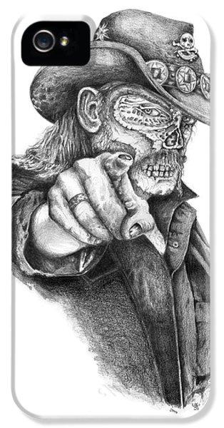 Metal Zombie Heroes Lemmy Kilmister Motorhead IPhone 5 / 5s Case by Jakub DK