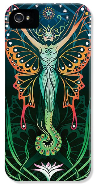 Metamorphosis V.2 IPhone 5 Case by Cristina McAllister