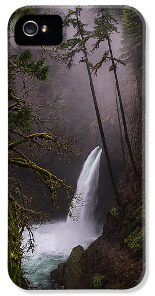 Metlako Falls Oregon IPhone 5 Case by Larry Marshall