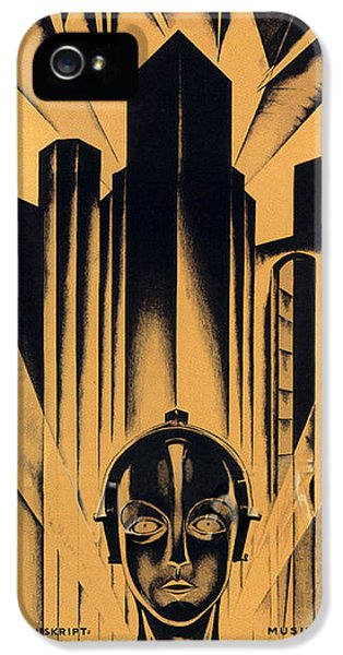 Metropolis Poster IPhone 5 Case by Gianfranco Weiss