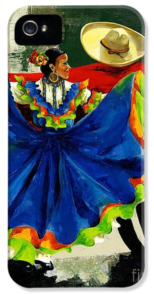 Mexican Dancers IPhone 5 Case