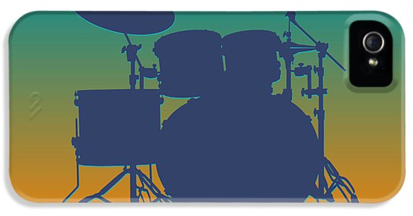Miami Dolphins Drum Set IPhone 5 Case by Joe Hamilton