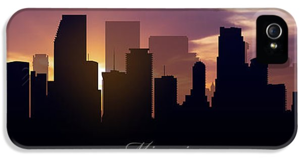 Miami Sunset IPhone 5 Case by Aged Pixel