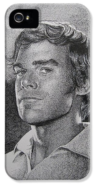 Michael C.hall. Dexter IPhone 5 Case by C V