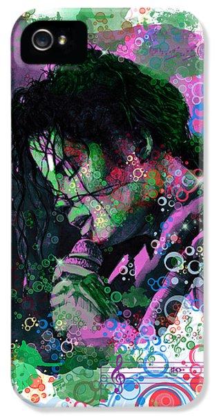 Michael Jackson 16 IPhone 5 Case by Bekim Art