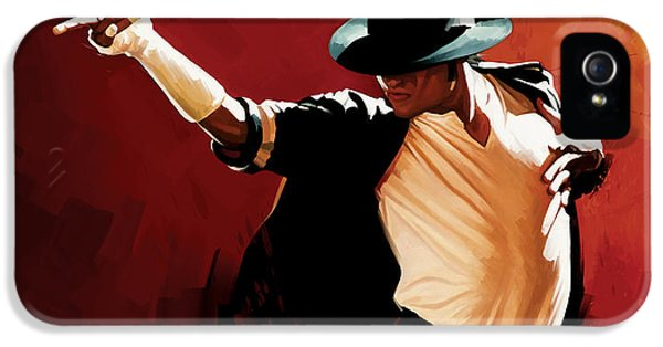 Michael Jackson Artwork 4 IPhone 5 / 5s Case by Sheraz A