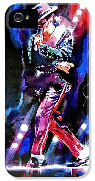Michael Jackson Moves IPhone 5 / 5s Case by David Lloyd Glover