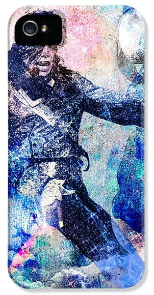 Michael Jackson Original Painting  IPhone 5 Case