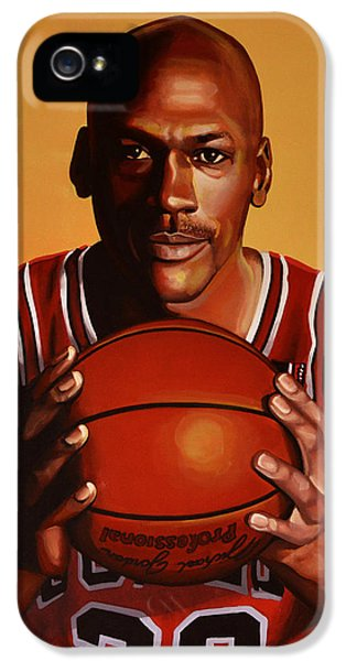 Wizard iPhone 5 Case - Michael Jordan 2 by Paul Meijering