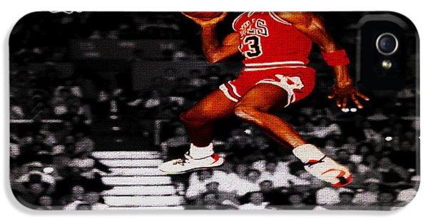 Michael Jordan Suspended In Mid Air IPhone 5 Case