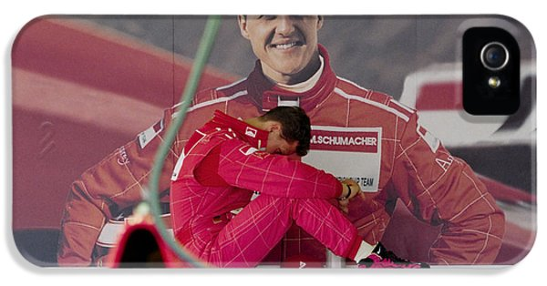 Michael Schumacher IPhone 5 Case by Gary Doak