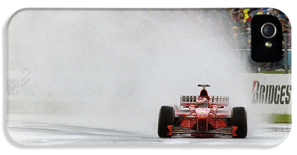 Michael Schumacher Rainmaster IPhone 5 Case by Gary Doak