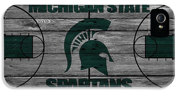 Michigan State Spartans IPhone 5 Case by Joe Hamilton