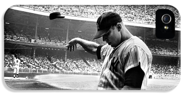 Mickey Mantle IPhone 5 Case by Gianfranco Weiss