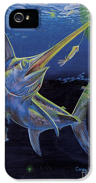 Swordfish iPhone 5 Case - Midnight Encounter Off0023 by Carey Chen