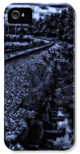Midnight On A Railroad Curve IPhone 5 Case
