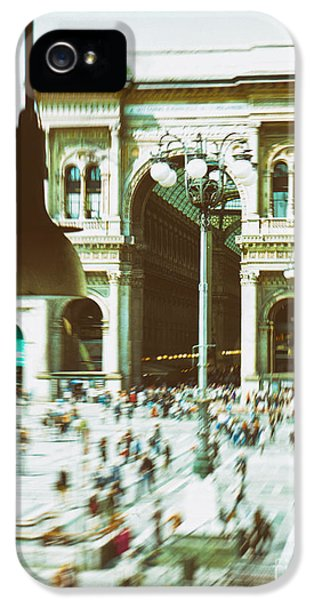 IPhone 5 Case featuring the photograph Milan Gallery by Silvia Ganora