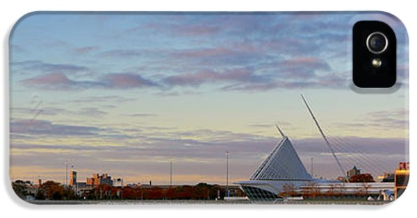 IPhone 5 Case featuring the photograph Milwaukee At Sunrise  by Ricky L Jones