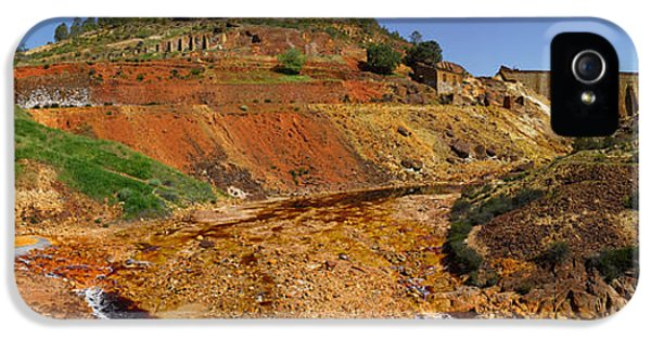 Mining Effects On Landscape At Rio IPhone 5 Case