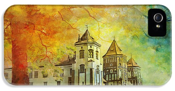 Mir Castle Complex IPhone 5 Case by Catf