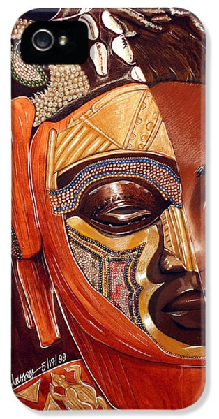 Mirror Heritage IPhone 5 Case by Belle Massey