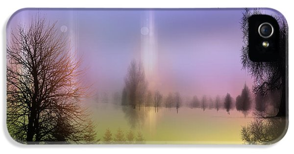 Mist Coloring Day 2 IPhone 5 Case by Mark Ashkenazi