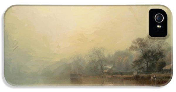 Mist In The Morning IPhone 5 Case by Georgiana Romanovna