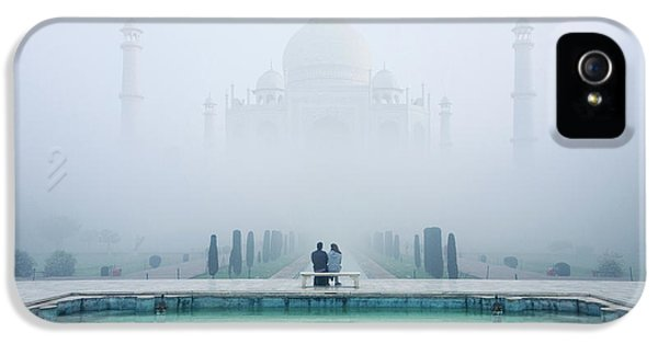 Misty Taj Mahal IPhone 5 Case