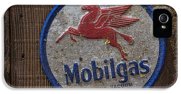 Pegasus iPhone 5 Case - Mobil Gas Sign by Garry Gay