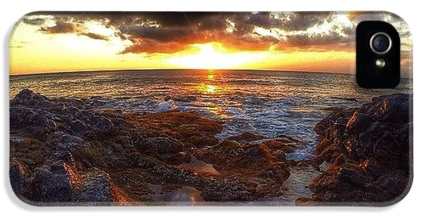 Follow iPhone 5 Case - Molokai Sunset by Brian Governale
