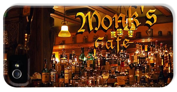 Monks Cafe IPhone 5 / 5s Case by Rona Black