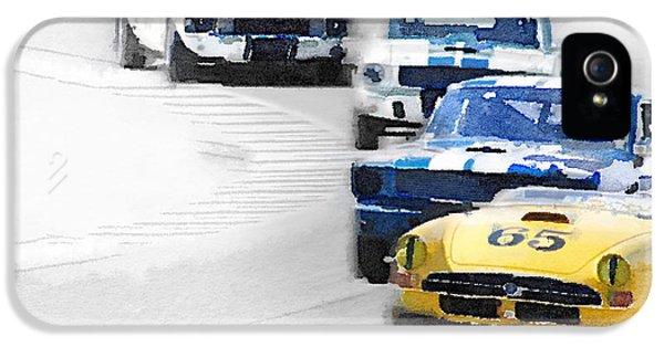 Monterey Racing Watercolor IPhone 5 Case