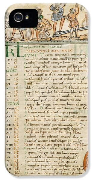 Month Of June, Anglo-saxon Calendar IPhone 5 Case