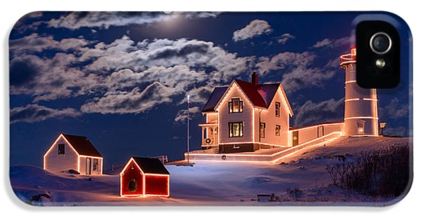 Moon Over Nubble IPhone 5 Case