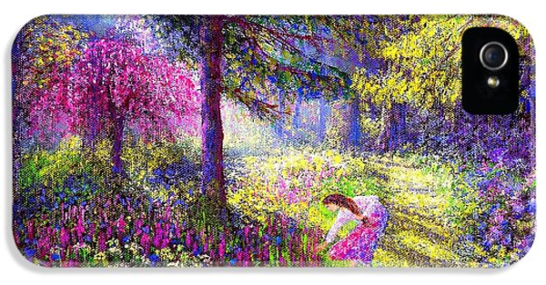 Morning Dew IPhone 5 Case by Jane Small