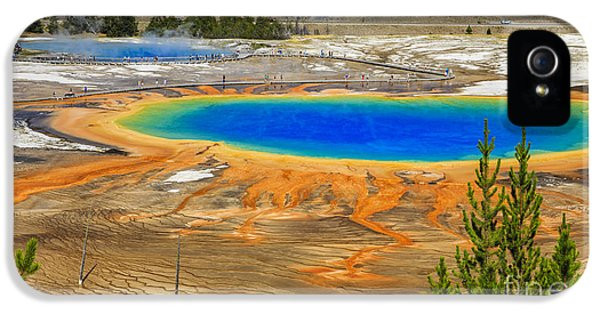 Grand Prismatic Geyser Yellowstone National Park IPhone 5 Case
