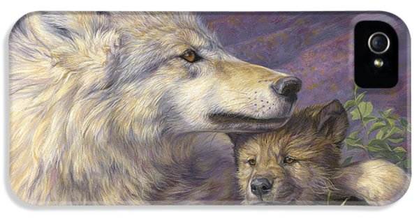 Mother's Love IPhone 5 Case by Lucie Bilodeau