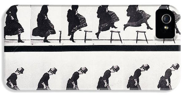 Motion Study IPhone 5 Case by Eadweard Muybridge