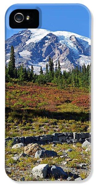 Mount Rainier IPhone 5 Case